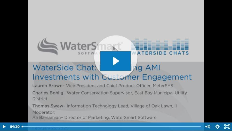 UWT Maximizing AMI Investments with Customer Engagement